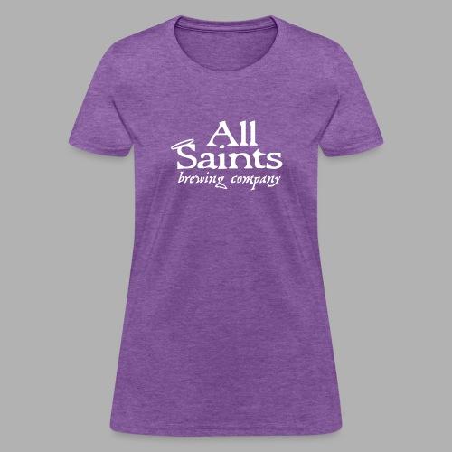 All Saints Logo White - Women's T-Shirt