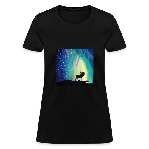 Night Moose - Women's T-Shirt
