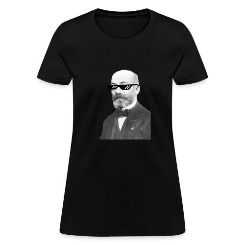 Zamenhof Shades (BW) - Women's T-Shirt