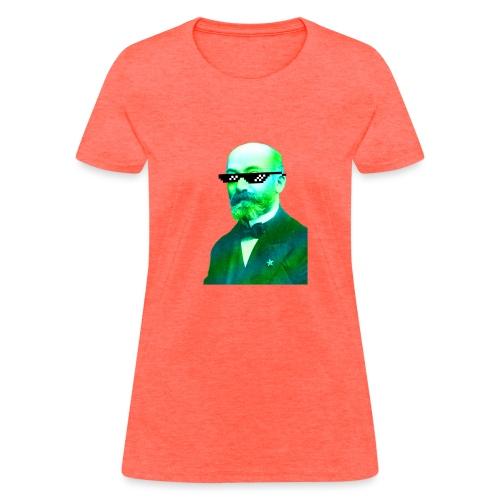 Green and Blue Zamenhof - Women's T-Shirt