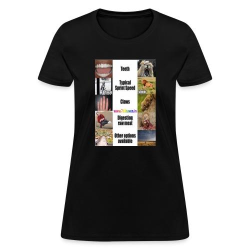 Govegan vegitranism animal curelty - Women's T-Shirt