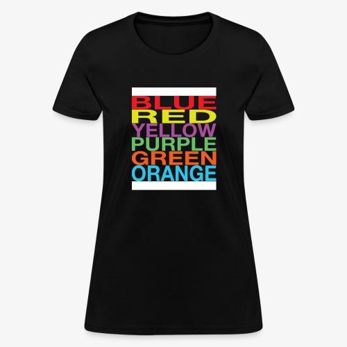 Color Confusion - Women's T-Shirt