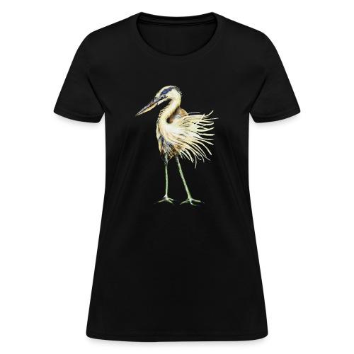 Great Blue Heron - Women's T-Shirt