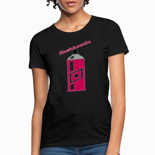 saskhoodz paint - Women's T-Shirt