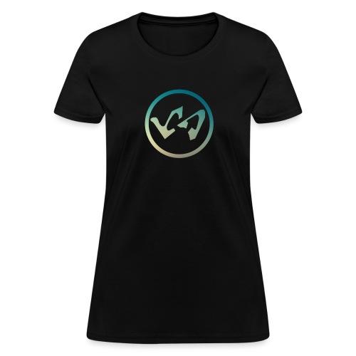 Logo Modern Blue - Women's T-Shirt