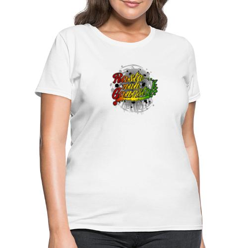 Rasta nuh Gangsta - Women's T-Shirt