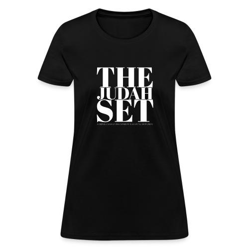 THEJUDAHSET LOGO (Blocked) - Women's T-Shirt