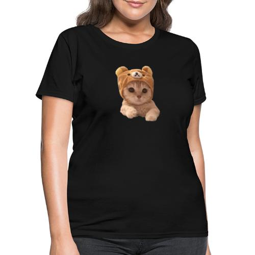 uwu catwifhat - Women's T-Shirt