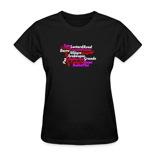 Ballet Art - Women's T-Shirt