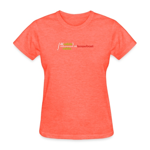 log cabin joke - Women's T-Shirt