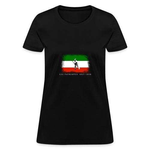 Patriote 1837 1838 - T-shirt pour femmes