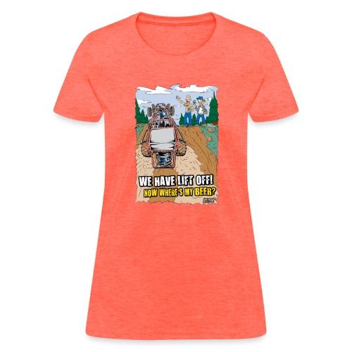 Beer Buggy Lift Off - Women's T-Shirt