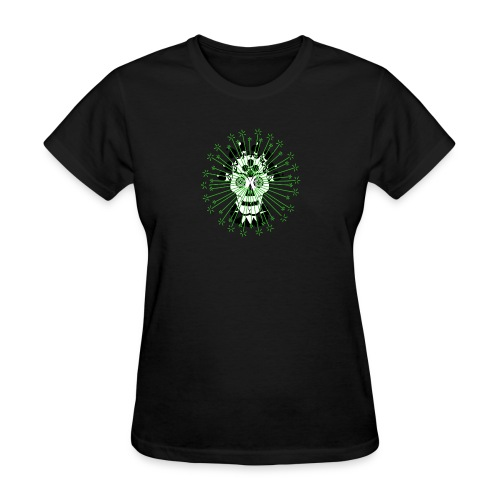 Day Of The Dead Scull Design - Women's T-Shirt