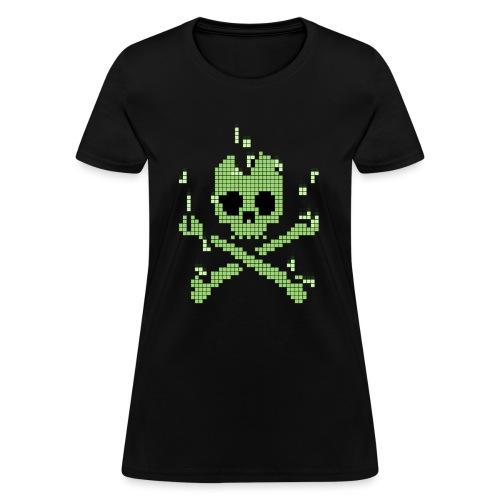 Digital Jolly Roger - Women's T-Shirt