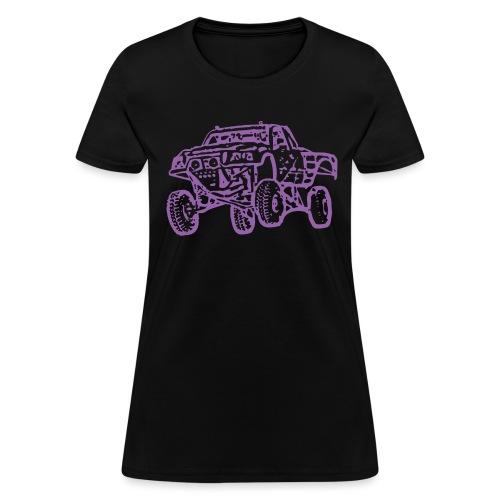 Jump Truck Purple - Women's T-Shirt