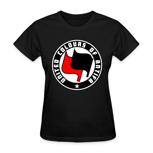 united colours of antifa - Women's T-Shirt