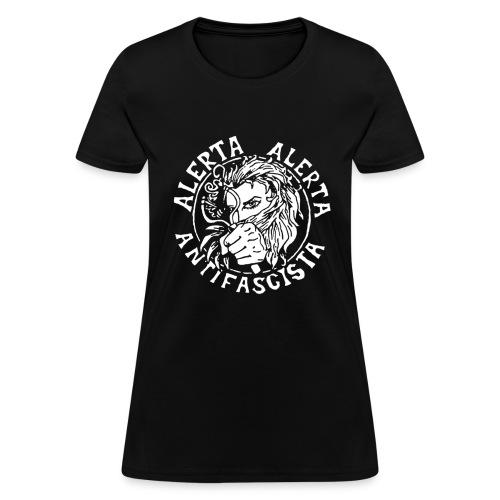 alerta alerta antifascista 1 - Women's T-Shirt