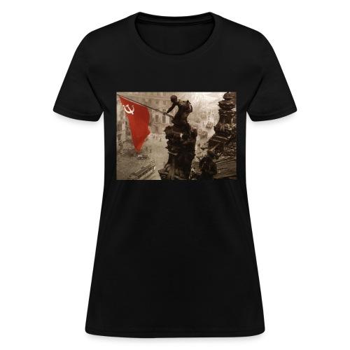 communism win over reichstag - Women's T-Shirt