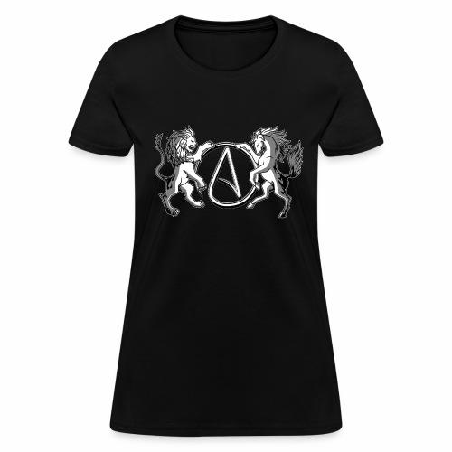 AR Manila Atheist Logo - Women's T-Shirt