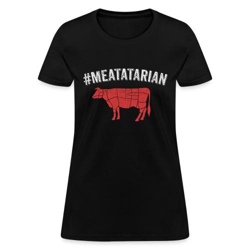 Meatatarian Print - Women's T-Shirt