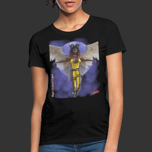 Undead Angels By Moonlight: Fallen Oblivion - Women's T-Shirt