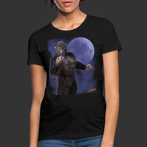 Undead Angels By Moonlight: Wolf Beast - Women's T-Shirt
