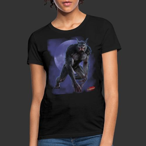 Werewolf By Moonlight - Women's T-Shirt