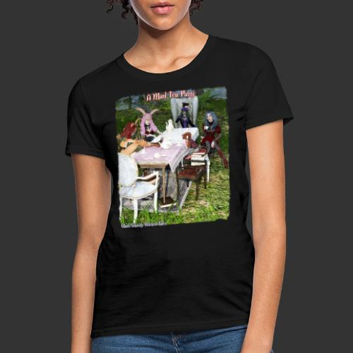 Alicia Abyss Mad Tea Party - Women's T-Shirt