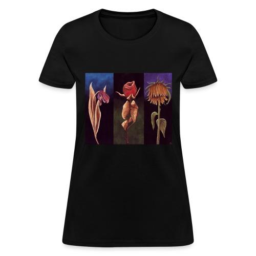 Fleurs mortes - T-shirt pour femmes