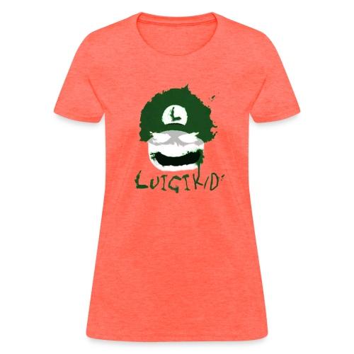 Luigi ghostsHat finished1 png - Women's T-Shirt