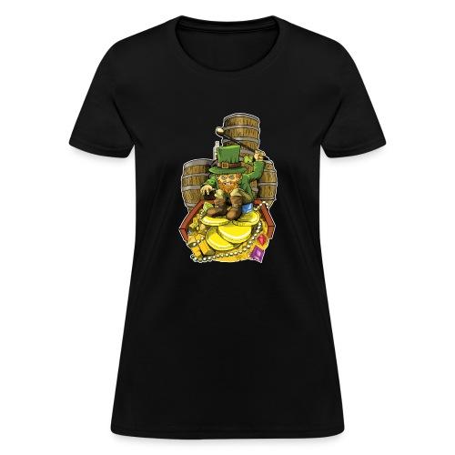 Angry Irish Leprechaun - Women's T-Shirt