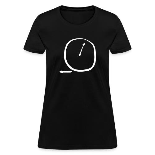 clock - Women's T-Shirt