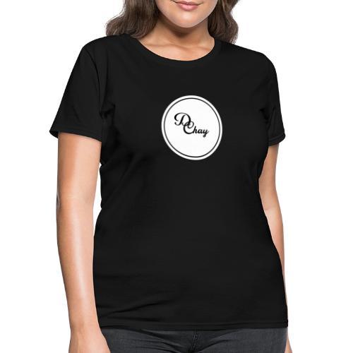 DChay Logo (White) - Women's T-Shirt