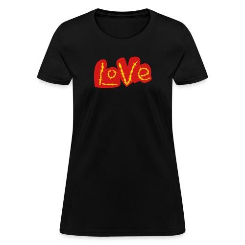 love love gold - Women's T-Shirt