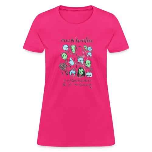 Man is born Free - Women's T-Shirt
