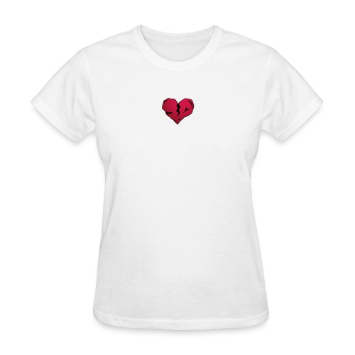 I heart horror 01 png - Women's T-Shirt