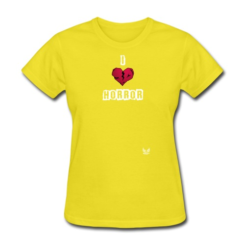 I heart horror 01 png - Women's T-Shirt