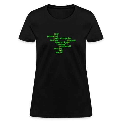John The Ripper Crossword 3 - Women's T-Shirt