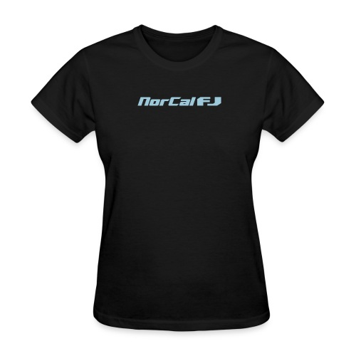 norcalfj textonly - Women's T-Shirt