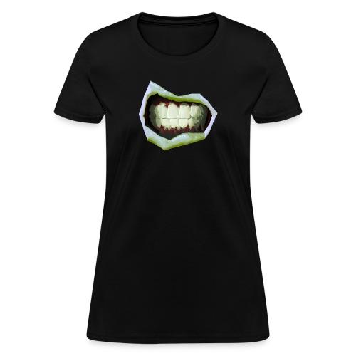 2 Mouth3temp png - Women's T-Shirt