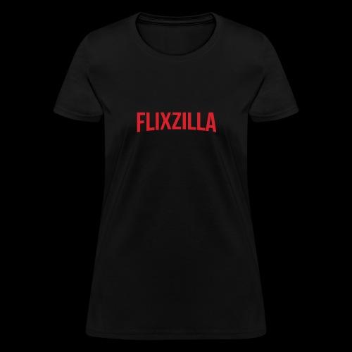 Flixzilla Logo - Women's T-Shirt