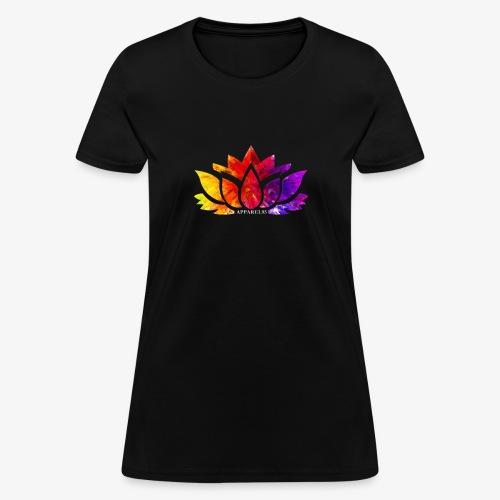 Multicolor Lotus - Women's T-Shirt