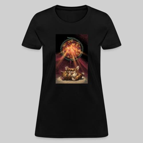 Playful Satanic Kitten - Women's T-Shirt
