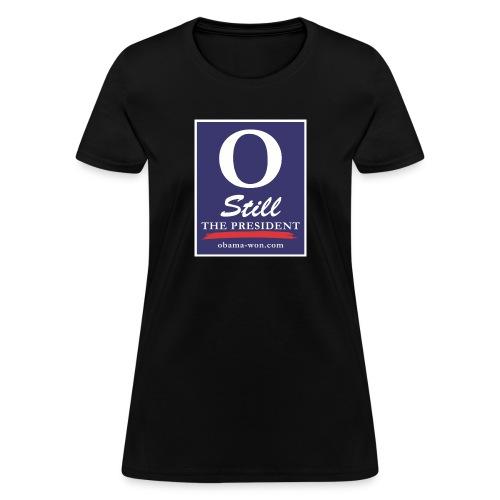 obama won shirts 300dpi - Women's T-Shirt