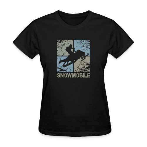Snowmobile Squared - Women's T-Shirt