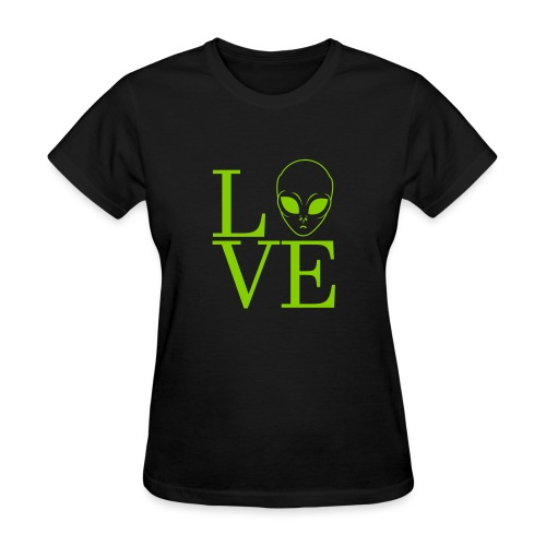 LOVE ALIEN - Women's T-Shirt