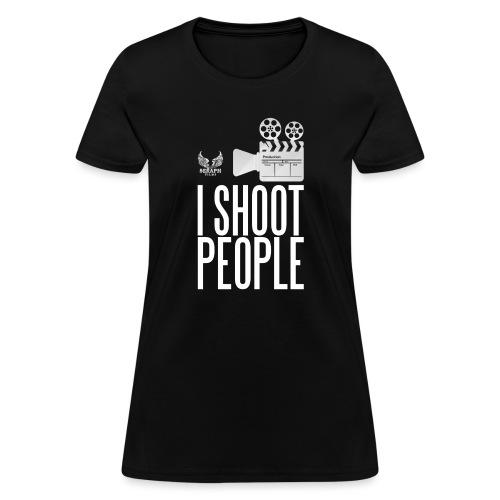 I Shooot People png - Women's T-Shirt