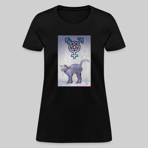 Trans Satanic Cat - Women's T-Shirt