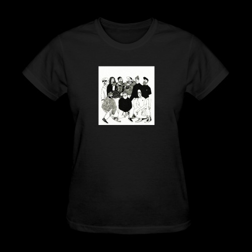 The DBD Show EP Cover Art - Women's T-Shirt