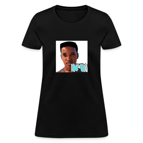 KevinsVids Face Logo - Women's T-Shirt
